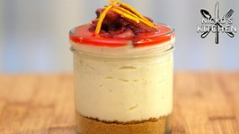 Slow Cooker Jar Cheesecakes / Slow Cooker Dessert