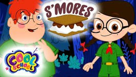 How To Make DIY Chocolate S'mores! - The Nikki Show-Cartoons For Kids -Science For Kids