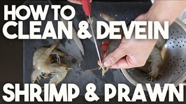 How to clean & DEVEIN head & shell on SHRIMP