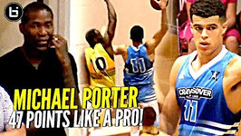 Michael Porter Jr Drops 47 Points At Jamal Crawford's Pro Am This Kid Is A Legit Pro