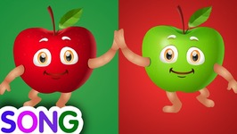 Apple Song - SINGLE- Learn Fruits for Kids - Educational Learning Songs and Nursery Rhymes