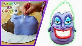 Ursula Cake - The Little Mermaid