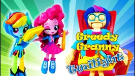 MLP Playing Greedy Granny Game With Twilight Sparkle Rainbow Dash And Pinkie Pie