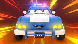 Sheriff is here now - Road Rangers - Police Car Song - Car Cartoons for Children - Kids Channel