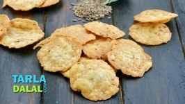 Jeera Puri - Kids School Snack