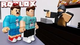 ESCAPED CRIMINALS GET JOBS AT MCDONALDS IN ROBLOX!