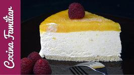 Receta para hacer una tarta helada de mango paso a paso