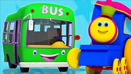 Wheels On The Bus - Nursery Rhymes Songs For Kids - Rhymes For Children By Bob The Train Part Second