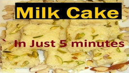 Indian Milk Cake- Eggless Dessert-In Five Minutes