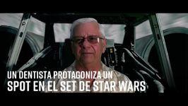 Un dentista protagoniza un spot en el set de Star Wars
