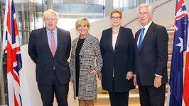 Boris Johnson Pledges Military Cooperation With Australia in Asia Region