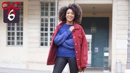 LOOKBOOK 24 Styling Colorful Teddy Coats / Manteaux d'hiver Colorés Moumoute - Vlogmas 6