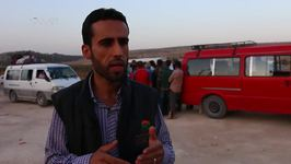 Hundreds of Families Flee Fighting in Iraq and Eastern Syria to Aleppo Province