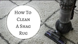 Spring Cleaning Quick Tip  How To Clean A Shag Rug