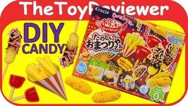 Kracie Popin Cookin Tanoshii Omatsuriyasan DIY Candy Kit Unboxing Toy Review