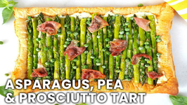 Brunch Recipe - Asparagus, Pea And Prosciutto Tart