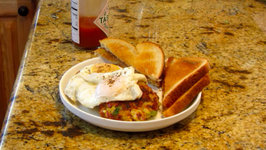 Food Storage Hash Patty Breakfast