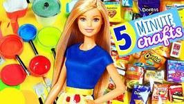 100 DIY Miniature Barbie Dollhouse Accessories - 6  -  Food And Kitchen Supplies