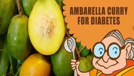 Vegetarian Ambarella Curry - Recipe for Diabetes  Weight Loss  Indigestion  Hypertension