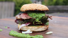 Picanha Burger With Chimichurri