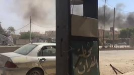 Smoke Seen Rising in Deir Ezzor After Airstrikes Cause Major Damage