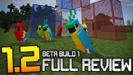 MINECRAFT 1.2 FEATURES & GAMEPLAY - Beta Build 1 Full Review & Showcase -Win10, XB1, Android