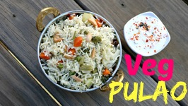 Vegetable Pulao / One Pot Indian Lunch/ Dinner