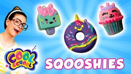 Color Me Sqooshies - DIY Squishy - Donut Popsicle and Cupcake - Arts and Crafts with Crafty Carol