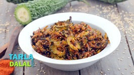 Onion And Karela Subzi