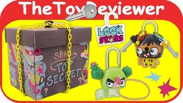 NEW Lock Stars Mystery Box Hasbro Keys Series 1 Surprise Blind Unboxing Toy Review