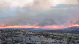 Firefighters Contain 9,800-Acre Dune Fire in Nevada