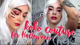 GRWM Glam Halloween Style With Koko Couture Wigs