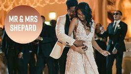 Inside Chanel Iman's Dreamy Beverly Hills Wedding