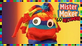 Sock Animal - How To Make In 60 Seconds - Mister Maker