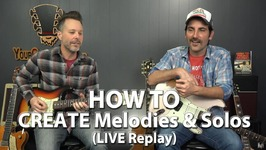 How to Create Melodies and Solos With No Prior Experience - Live With Brett Papa AKA Papastache