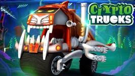 Sasquash Mud Wash - Videos For Children - Cartoons For Kids - Kids Tv - Cryptotrucks