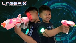 Play Laser Tag At Home With Laser X - Micro Blasters And Long Range Blaster Review