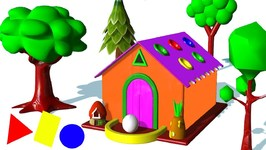 Learn Colors With Shapes Gingerbread House Nursery Rhymes Songs For Kids Children
