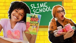 Slime School Students vs SLime Teacher! Candy Sneak in Class - New Toy School