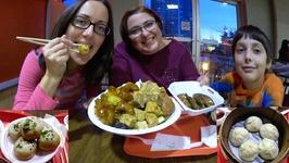 Soup Dumplings And Chinese Food / Gay Family Mukbang - Eating Show