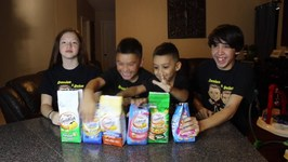 GOLDFISH CHALLENGE! with Damian and Deion