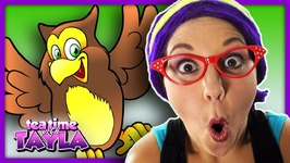 Kids Learning Animals - Owl Facts for Children - Learn to Identify Colors