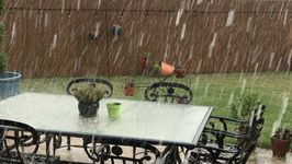 Hailstorm Hits Central Texas