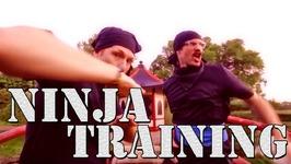 Ft. Justin Pierre - Ninja Training (Official Video)