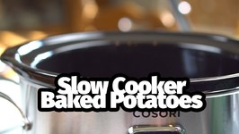 How To Make Baked Potatoes In Your Slow Cooker