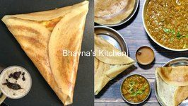 A Step-By-Step Crispy Golden Dosa Tutorial Full Menu Chauta Bazaar Surat Video Recipe