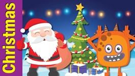 Santa Reindeer Christmas Tree - Christmas Game For Kids