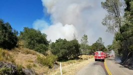 Santa Margarita's Hill Fire Quickly Grows from 10 to 100 Acres in Hours