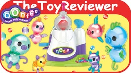 Oonies S1 Starter Pack Balloon Inflator Decorate Games Sticky Unboxing Toy Review