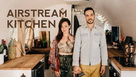 TINY HOUSE TOUR - Airstream Kitchen Renovation